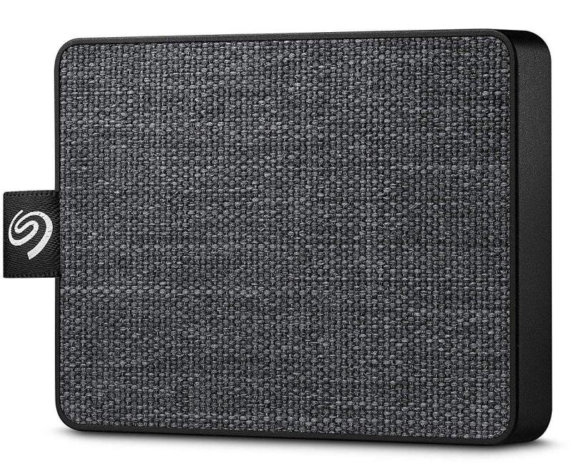 Seagate One Touch 500GB Portable SSD - Black