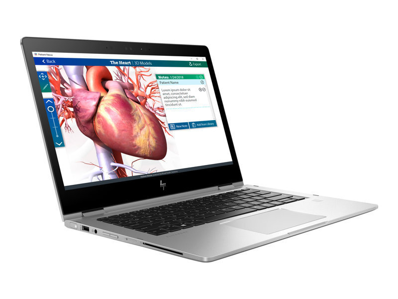 "HP EliteBook x360 1030 G2 Core i7 16GB 512GB SSD 13.3"" Win10 Pro Convertible Laptop"
