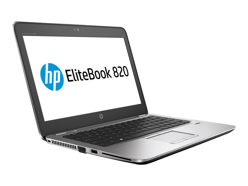 "HP EliteBook 820 G3 Core i5 8GB 500GB HDD 12.5"" Win10 Pro Laptop"