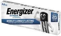Energizer Ultimate Lithium AA Batteries 10 Pack