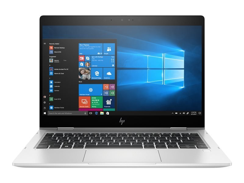 "Image of HP EliteBook x360 830 G5 Core i5 8GB 256GB SSD 13"" Win10 Pro Convertible Laptop"