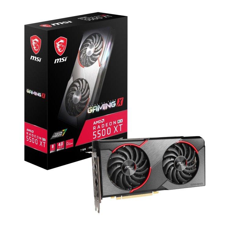 MSI Radeon RX 5500 XT GAMING X 8GB Graphics Card