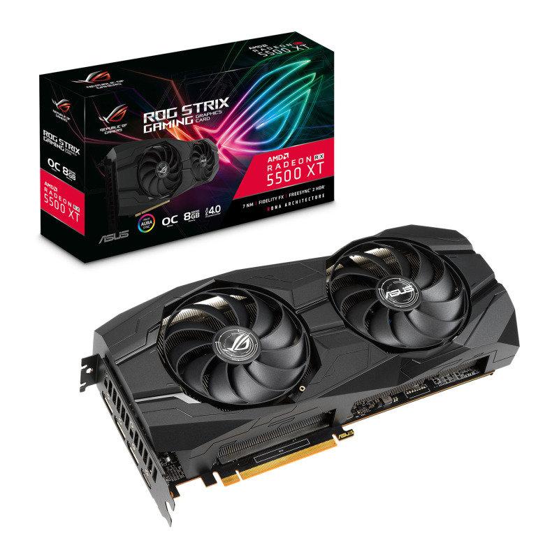 ASUS Radeon RX 5500 XT ROG Strix OC 8GB Graphics Card
