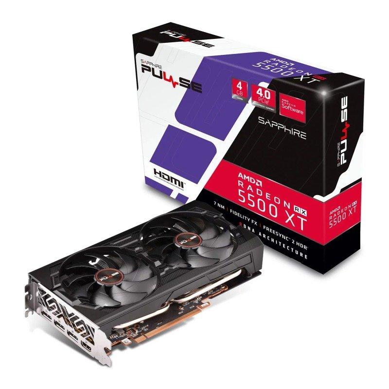 Sapphire Radeon RX 5500 XT PULSE 4GB Graphics Card