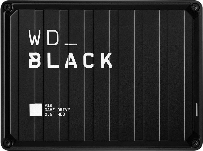 WD_BLACK  P10 Game Drive - 4TB