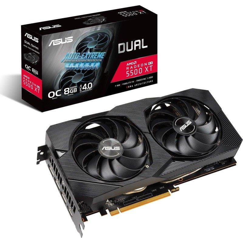 ASUS Radeon RX 5500 XT DUAL EVO OC 8GB Graphics Card