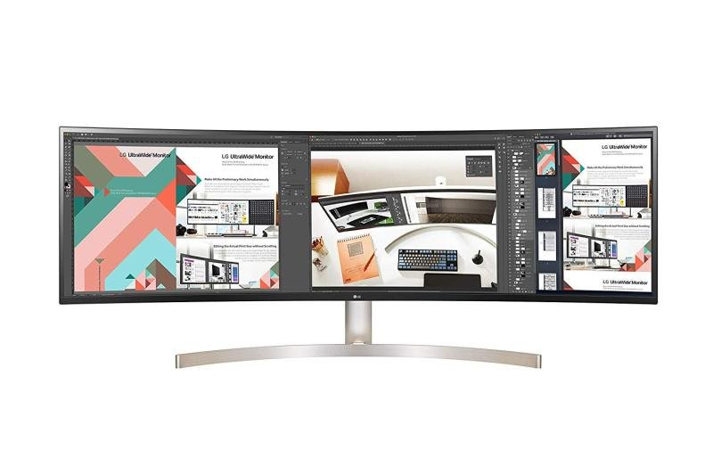 EXDISPLAY LG 49WL95C-W 49-Inch Curved 32: 9 Ultrawide Dqhd IPS with HD