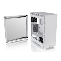 Thermaltake S500 Snow Tempered Glass Mid Tower PC Case