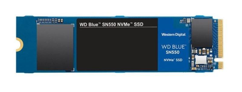 Image of WD Blue SN550 250GB NVME M.2 2280 PCIe Gen3 SSD