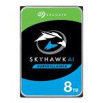 "Seagate SkyHawk AI 8TB Surveillance Hard Drive 3.5"" 7200RPM 256MB Cache"