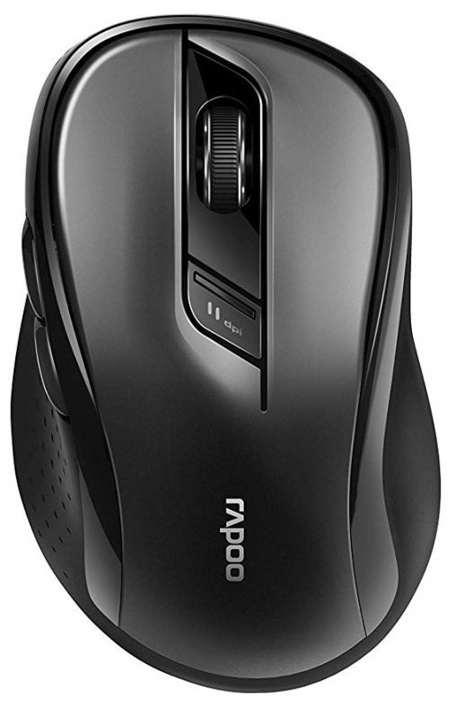 Rapoo M500 Silent Wireless Mouse Black