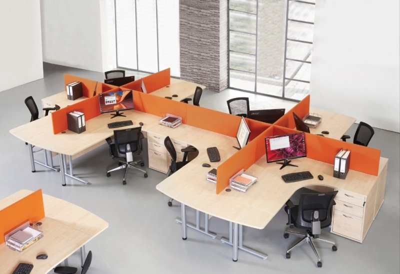 Maestro 25 SL Right Hand Ergonomic Desk 1400mm