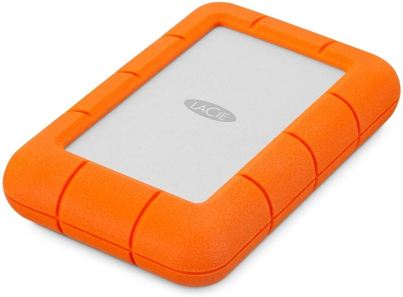 LaCie Rugged Mini 5TB External Hard Drive Portable HDD