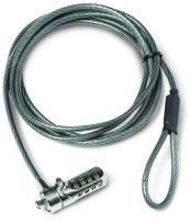 Dicota Security Cable T-Lock, combination, 3x7mm slot