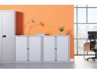 Bisley Systems Storage Low Tambour Cupboard 1000mm High