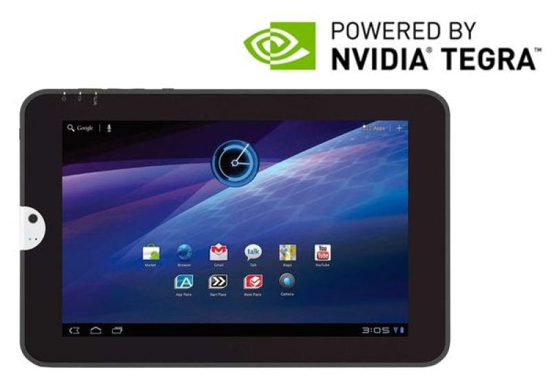 "Toshiba At100-100 Tablet Pc, Tegra 250 1.0ghz, 1gb Ram, 16gb Ssd, 10.1"" Led Touch, 2 X Webcam, Bluetooth, Android 3.1"