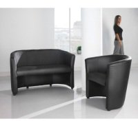 London Reception Single Tub Chair 670mm Wide
