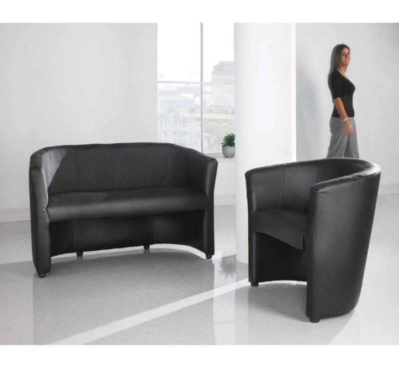 London Reception Single Tub Chair 670mm Wide