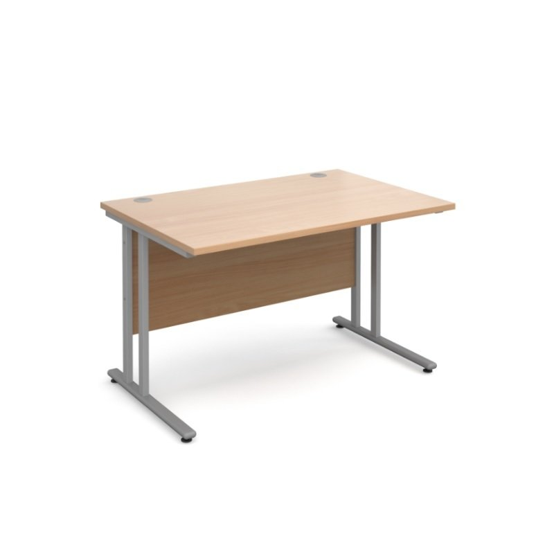 Maestro 25 SL Straight Desk 1200mm x 800mm