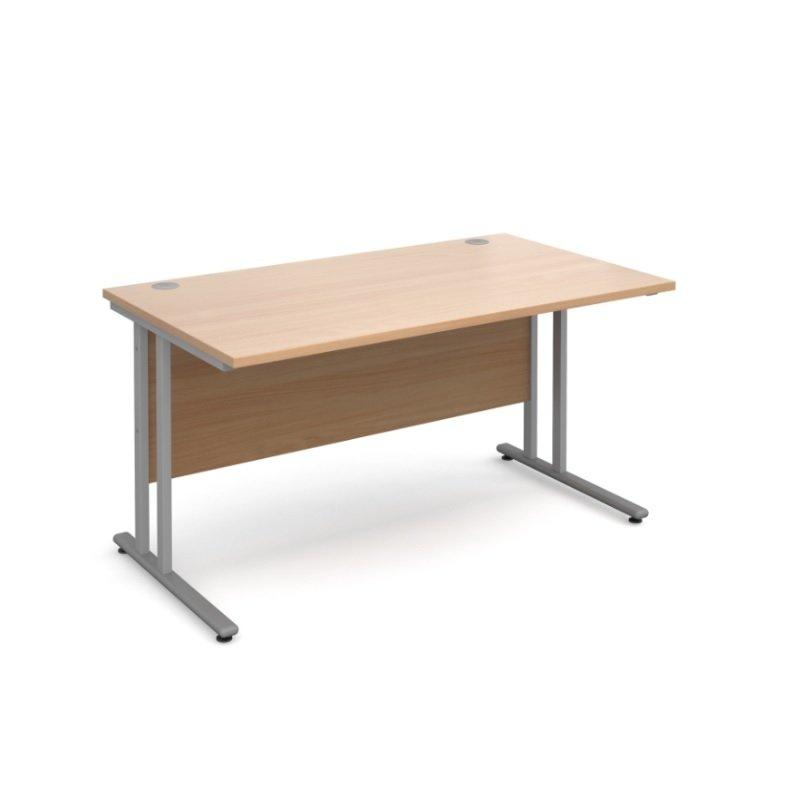 Maestro 25 SL Straight Desk 1400mm x 800mm