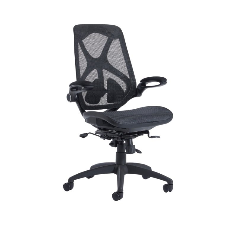 Napier High Mesh Back Operator Chair With Mesh Seat