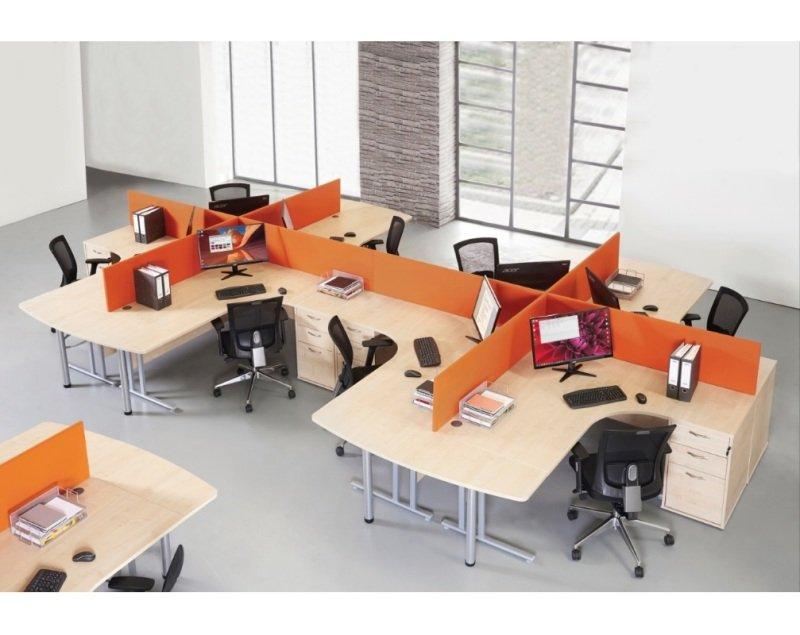 Maestro 25 SL Left Hand Ergonomic Desk 1600mm