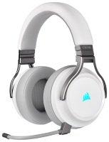 EXDISPLAY Corsair Virtuoso 7.1 Wired/Wireless RGB Gaming Headset - White