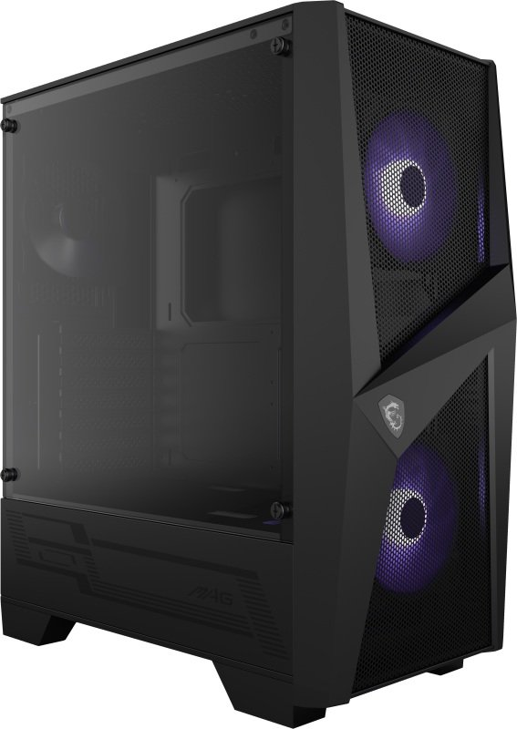 MSI MAG FORGE 100M Mid Tower Gaming Computer Case