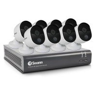Swann 8 Channel Security System 8x 1080p Thermal Sensing Cameras 1TB HDD