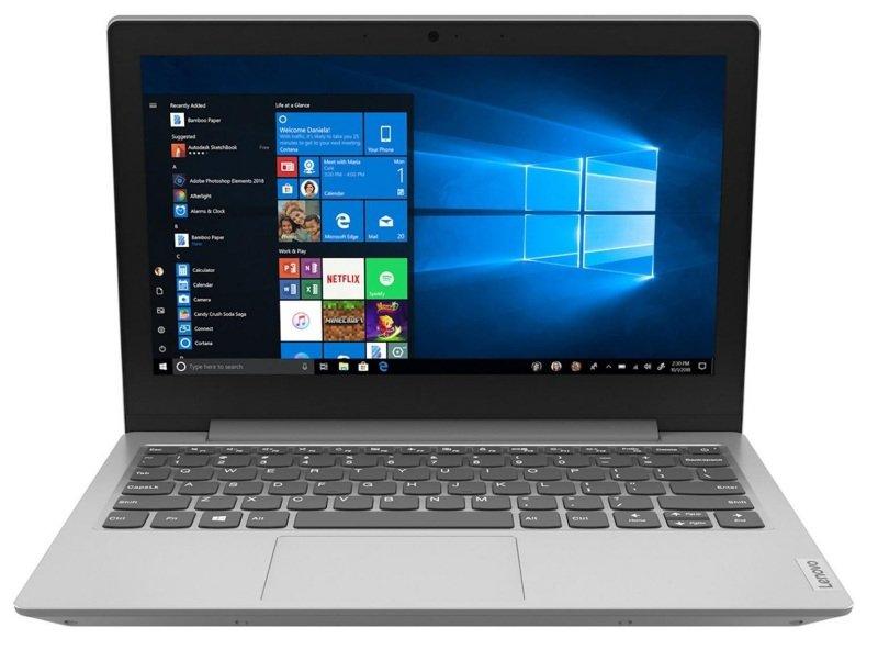 "Lenovo IdeaPad Slim AMD A4 4GB 64GB 11.6"" Win10 Home Laptop - Grey"