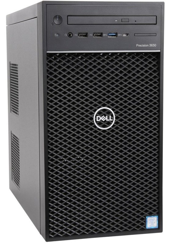 Dell Precision 3630 i7 8th Gen 8GB RAM 256GB SSD Quadro P620 Win10 Pro MT Workstation Desktop PC