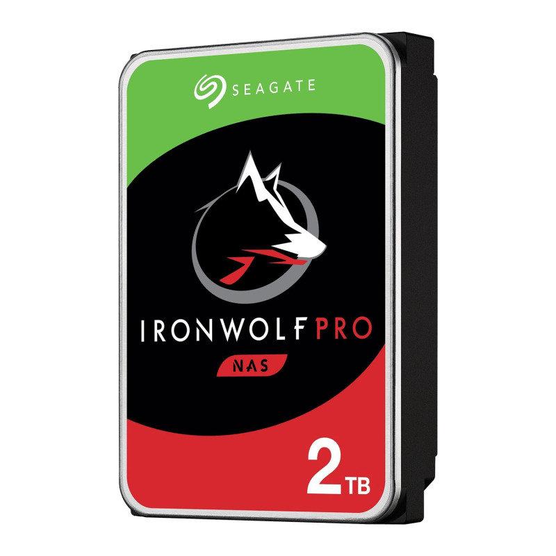 "Seagate IronWolf Pro 2TB NAS Hard Drive 3.5"" 7200RPM 128MB Cache"