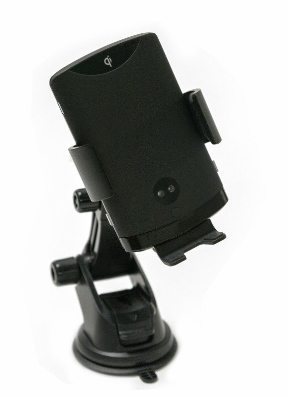 Wireless Car Smartphone Charging Cradle with Auto-Open/Close