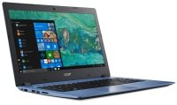 "Acer Aspire 1 Intel Celeron 4GB 64GB eMMC 14"" Win10 Home Laptop - Blue"