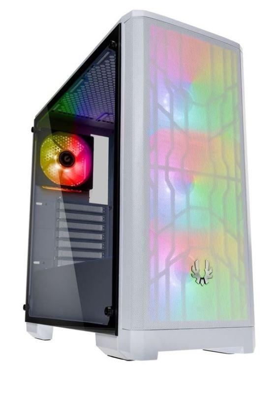 Image of BitFenix Nova Mesh A-RGB Midi-Tower Case - White Window