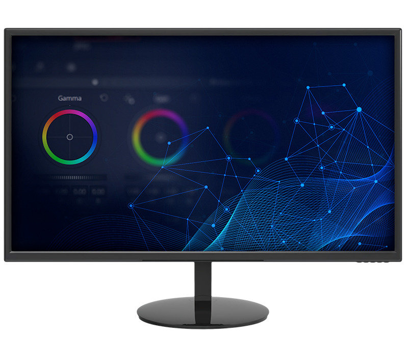 """Xenta 24"""" LED Monitor IPS with Height Adjustable Stand"""