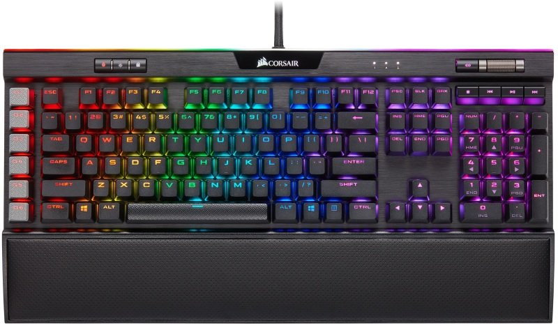 Corsair K95 RGB Platinum XT Cherry MX Blue Mechanical Gaming Keyboard