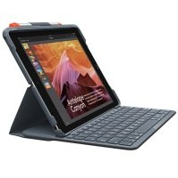 "Logitech Slim Folio Case with Bluetooth Keyboard for iPad 10.2"" 7th Gen"