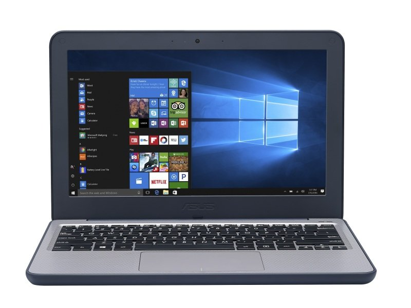 "Asus VivoBook W202 Intel Celeron 4GB 64GB eMMC 11.6"" Win10 Pro Laptop (Education Only)"