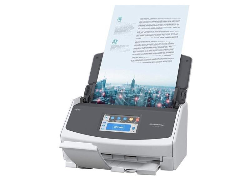 EXDISPLAY Fujitsu ScanSnap IX1500 Automatic Document Feeder Wireless A4 Scanner