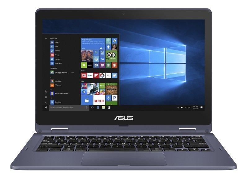 "Asus VivoBook Flip 12 Intel Celeron 4GB 64GB eMMC 11.6"" Win10 Pro Convertible Laptop (Education Only)"