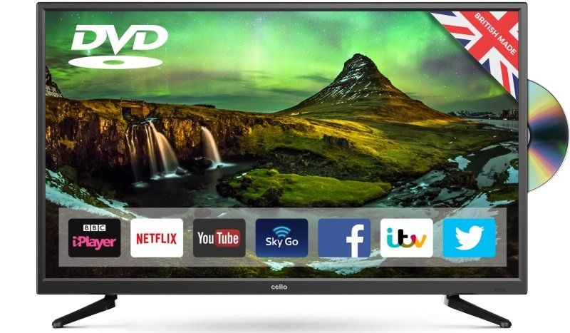 "Cello C32SFSD 32"" Smart HD Ready LED TV"