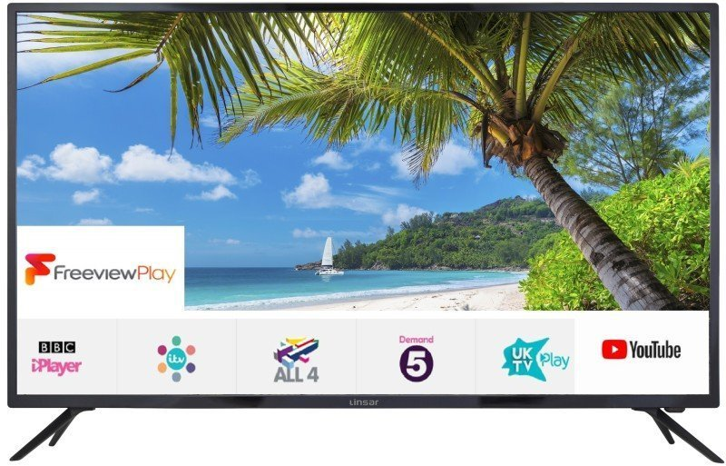 """Linsar 65UHD8000FP 65"""" 4K Ultra HD Smart LED TV with Freeview Play"""