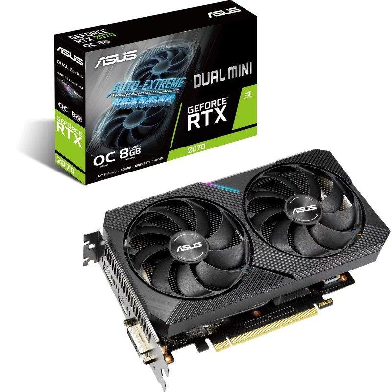 ASUS GeForce RTX 2070 Dual MINI OC 8GB Graphics Card