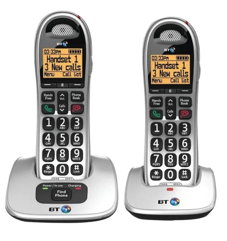 Image of Bt 4000 Big Button Dect Twin
