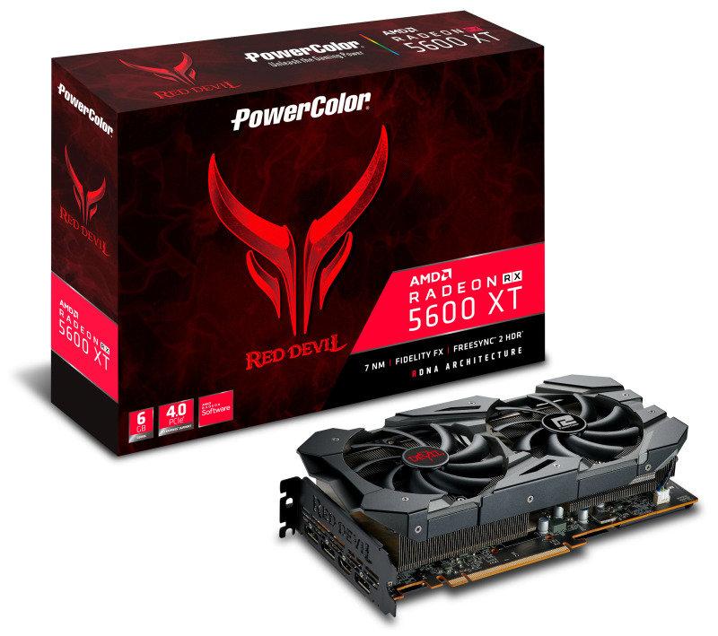 PowerColor Radeon RX 5X 5600 XT 6GB Red Devil Graphics Card