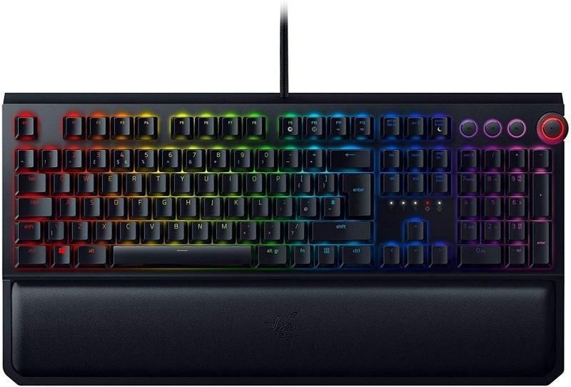 Razer BlackWidow Elite Chroma Mechanical Gaming Keyboard - Orange Switch