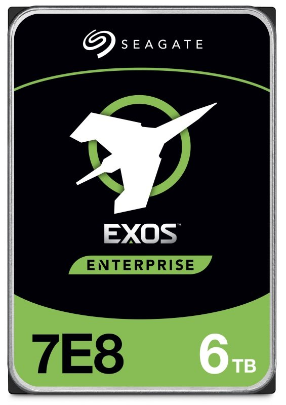 "Image of Seagate Exos 6TB Enterprise Hard Drive 3.5"" 7200RPM 256MB Cache"