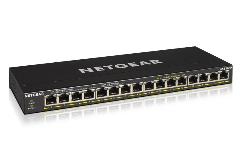 NETGEAR 16-Port Gigabit Ethernet Network Switch