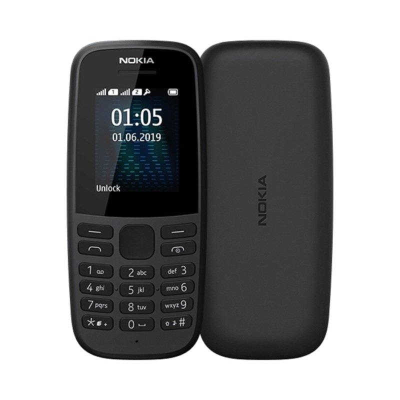 Nokia 105 1.77 4MB 2G Mobile Phone Black